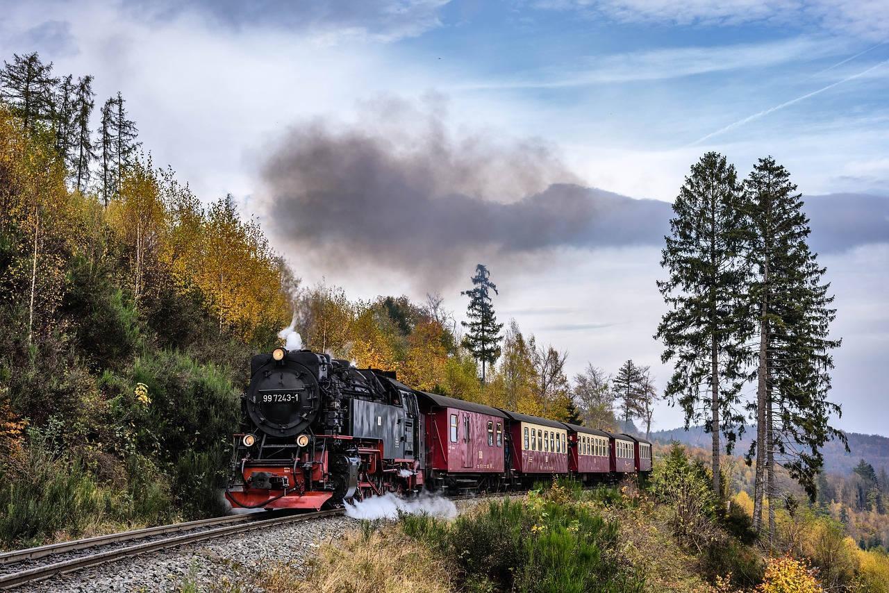 Dampflok im Harz