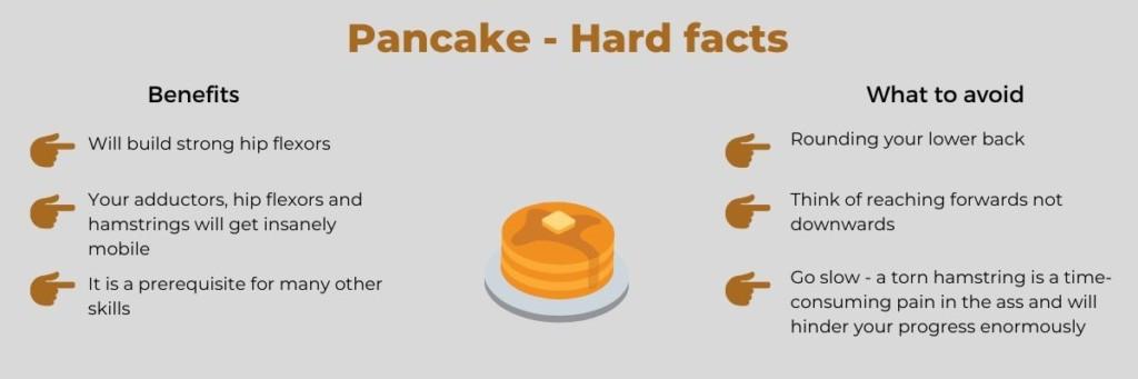 Pancake Stretch Benefits Infopost