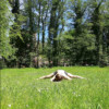 """This image shows me doing a center split and is the image of my post=""""the 8 most important flexibility positions."""""""
